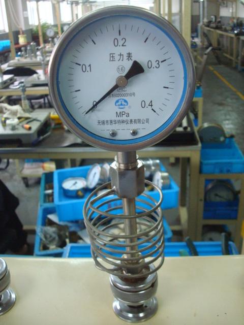 耐高温压力表的特点与安装注意事项?