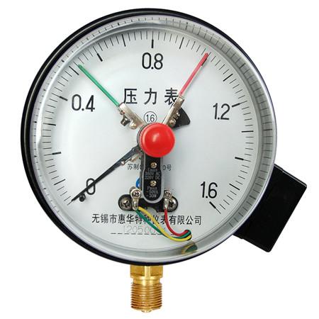 YXC-150径向普通电接点压力表