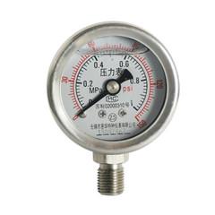 YNBF-40径向不锈钢耐震压力表